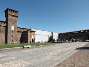Castello Sforzesco (dalam)