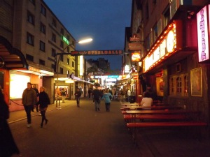 Reeperbahn red district