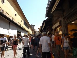 Toko-toko di Ponte Vecchio