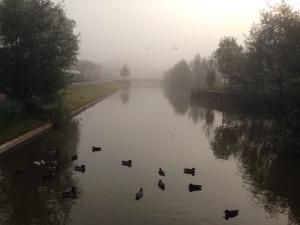 Jalan-jalan pagi di Groningen