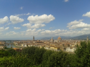 Florence dari Piazzale Michelangelo