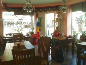 Restorannya bersih dan rapi.