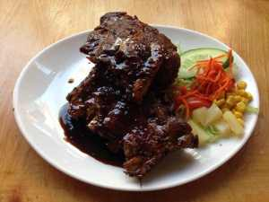 The famous spare ribs.