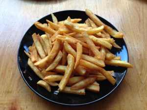 Patat or fries.